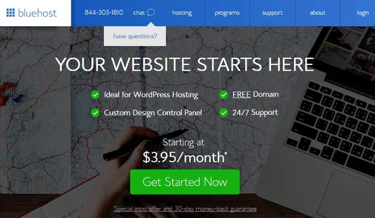 Bluehost_website