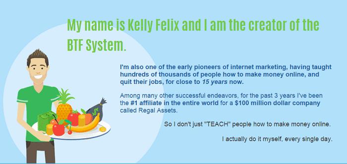 Bring the Fresh Kelly Felix