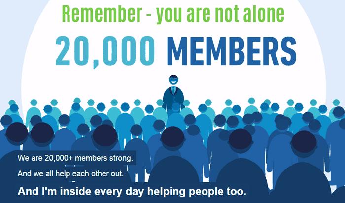 Bring the Fresh 20,000 members