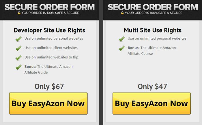 EasyAzon Pricing