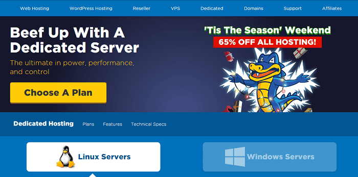 Hostgator Dedicated Server