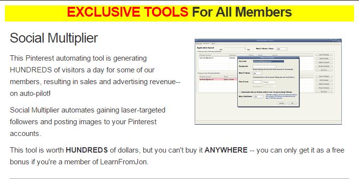Learn from Jon Social Multiplier