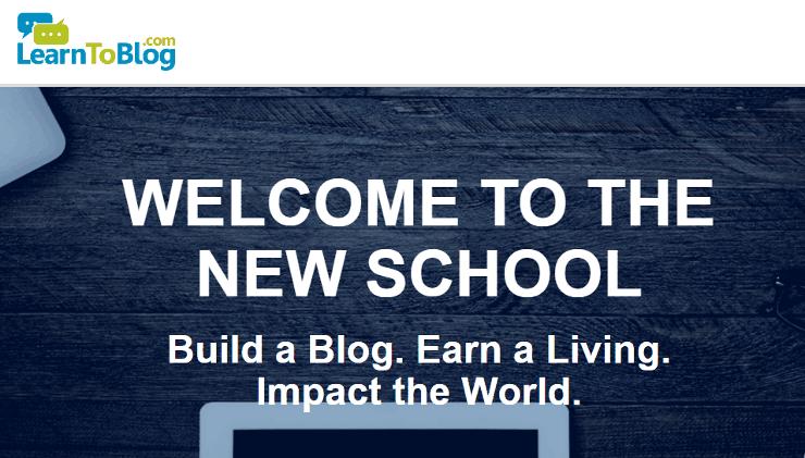 learntoblog_website