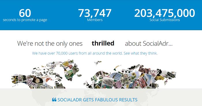 socialadr users