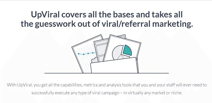 Upviral referral marketing