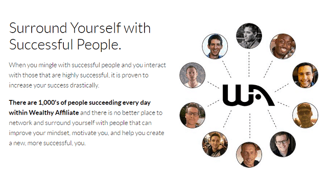 wealthy affiliate successful people