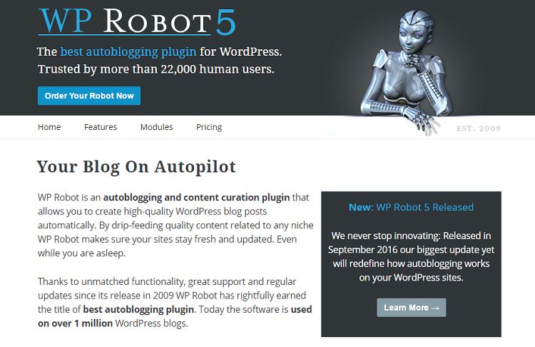 WP Robot 5