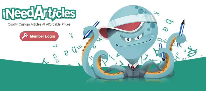iNeedArticles-homepage