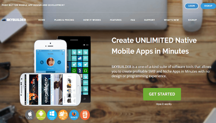 create your own information based apps in minutes