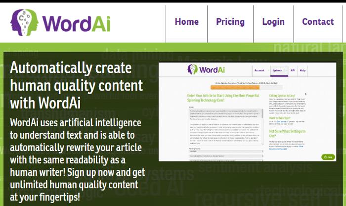 word-ai-homepage