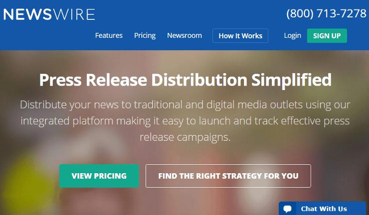 Newswire_website